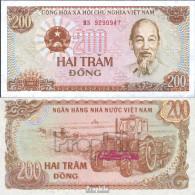 Vietnam Pick-Nr: 100c Bankfrisch 1987 200 Dong - Vietnam