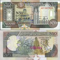 Somalia Pick-Nr: R2 Bankfrisch 1991 50 N Shillings - Somalie