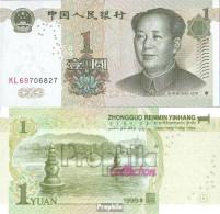 Volksrepublik China Pick-Nr: 895a Bankfrisch 1999 1 Yuan - China