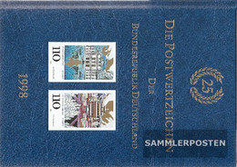 FRD (FR.Germany) 1998 Unmounted Mint / Never Hinged Official Jahrbuch The German Post - Lots & Kiloware (mixtures) - Max. 999 Stamps