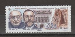 FRANCE / 2010 / Y&T N° 4456 ** : Paléontologie Humaine (Breuil & Albert 1er) - Gomme D'origine Intacte - Unused Stamps