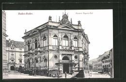 AK Baden-Baden, Partie Am Hotel Kaiserin Augusta-Bad - Baden-Baden
