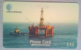 269CFKA Oil Rig 15 Pounds - Falkland Islands