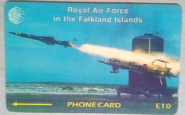 59CFKA RAF Rapier - Falkland Islands
