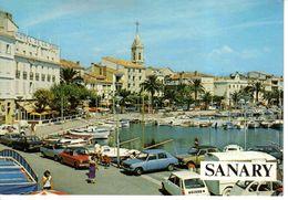 83 SANARY N°113 Son Port Hôtel De La Tour Tube Citroën 2CV GS Simca 1100 Austin Peugeot 504 - Sanary-sur-Mer