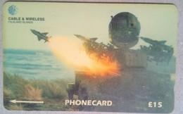 219CFKA  RAF Rapier - Falkland Islands