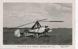 H29 - AVIATION - Autogire De La Cierva - Biplace - 80 Cv - 1919-1938: Between Wars