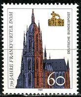 BRD - Mi 1434 - ** Postfrisch (C) - 60Pf   Dom Frankfurt - [7] Repubblica Federale