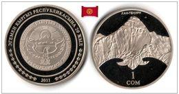 Kyrgyzstan - 1 Som 2011 (Khan-Tengri Peak - 5000 Ex.) - Kyrgyzstan