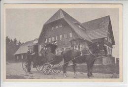 ATTELAGE ET CHEVEAUX - FERME - N/C - 1928 - BAD REINERZ -  VOIR EXPLICATIF CI-DESSOUS - Pologne