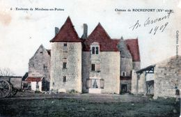 Cpa Environs De Mirebeau-epoitou Chateau De Rochefort (15e Siècle) - Mirebeau