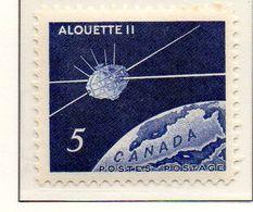 """PIA - CANADA - 1966 : Lancio Del Satellite Canadese """"Alouette II"""" - (Yv 369) - Space"""