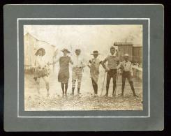 1905-10. Cca. Tébolyodott Fürdözök, érdekes Régi Amatör Fotó   12*6 Cm  /  Ca 1905-10 Bathing Fewer Interesting Vintage  - Altri