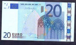 Euronotes 20 Euro 2002 UNC < G >< R027 > Cyprus Draghi - EURO