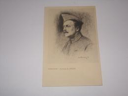 Portrait De Zislin De Leon Hornecker En 1916.Edition Gallais à Paris No 19. - Guerre 1914-18