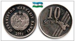Ouzbékistan - 10 Som 2001 (UNC) - Uzbekistan