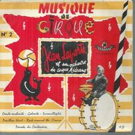 "45 Tours EP - JEAN LAPORTE - FESTIVAL 2043  -   "" ROCK AROUND THE CIRCUS "" + 5 ( ORCHESTRE DU CIRQUE MEDRANO ) - Sonstige - Franz. Chansons"