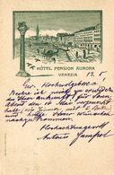 Italia-cartolina Pubblicitaria Di Venezia Viaggiata Come Da Foto - Venezia