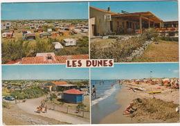 Serignan Plage: CITROËN DS, CAMPING, CARAVANING/TENTES , SNACK BAR -  'Les Dunes' En Bord De Mer (Hérault) - Passenger Cars