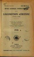 """« Revue Juridique De Locomotion Aérienne – Tome 10"""" Ed. Per Orbem, Paris (1926) - Manuals"""