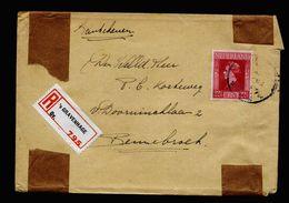 A5114) Niederlande R-Brief SGravenhage Nach Bennebroek EF - 1891-1948 (Wilhelmine)