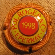 CAPSULE CHAMPAGNE POL ROGER & Cie EPERNAY 1998 - Pol Roger