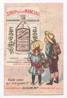 Sirop Du Docteur MANCEAU Chateau Du Loir GUILLON Pharmacien - Publicité