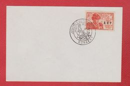 Oblitération Sur Feuille -- Journée Du Timbre -  13 Octobre 1945  --  Konakry - Oblitérés
