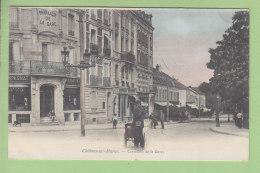 Châlons Sur Marne : Pharmacie De La Gare, Carrefour De La Gare. Dos Simple. 2 Scans. Edition ? - Châlons-sur-Marne