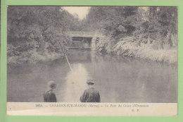 Châlons Sur Marne : Le Pont Du Cours D'Ormesson. 2 Scans. Edition R P - Châlons-sur-Marne