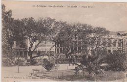 Cpa,sénégal,afrique, Occidentale,DAKAR, Place Protet,place Fleuri,il Ya 100 Ans,intersection Culture Africaine,européene - Sénégal