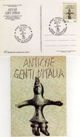 Italia 1994 Rimini Mostra Archeologica ANTICHE GENTI D'ITALIA Annullo FDC Cartolina Dedicata - Archeologia