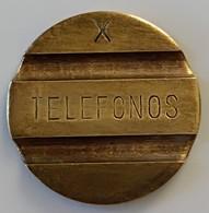 Jeton De Téléphone - Telefonos X - Espagne - TTB - - Professionnels/De Société