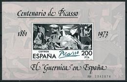 ESPAÑA / SPAIN 1981 EDIFIL 2631** Y&T BF 29** PICASSO EL GUERNICA - Picasso