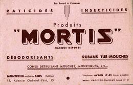 BUVARD RATICIDE MORTIS - Agriculture