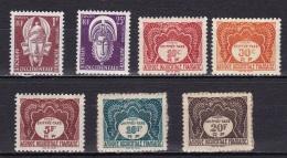 AOF Service N°1*,6*+ Taxe N°1*,2*,8*,9*,10* - Unused Stamps