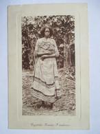 MADAGASCAR   -    FEMME  D'ANTANKARA    TRES ANIME     LEGERE ROGNURE - Madagascar