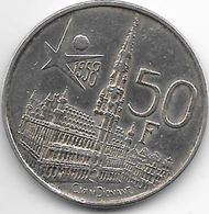 *belguim 50 Francs 1958 French - 1951-1993: Baldovino I