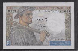 France 10 Francs Mineur 10-3-1949 - Fayette N°8-20 - SPL - 1871-1952 Anciens Francs Circulés Au XXème