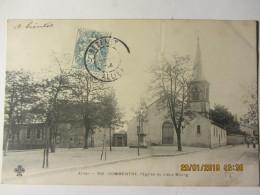 Cpa COMMENTRY (03) L'église Du Vieux Bourg - Commentry