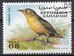 Saharaui 1997 Birds Uccelli : Canapino Maggiore - Hippolais Icterina - Nuovo CTO - Sparrows