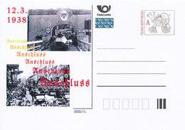 Tchéquie / Cartes Post. (Pre2013/09) L'Anschluss (l'annexion De L'Autriche En Mars 1938) - WO2