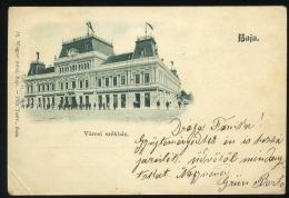 BAJA 1899. Régi Képeslap - Hongrie