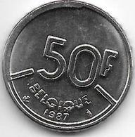 Belguim 50 Francs 1987 French Unc - 1951-1993: Baudouin I