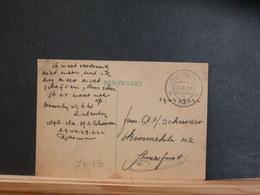 74/370  BRIEFKAART MILITAIR  1949 - Postal Stationery