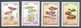 Algérie YT N°787/790 Champignons Neuf ** - Algeria (1962-...)