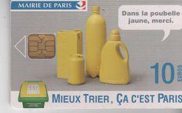 PARIS CARTES - Mieux Trier, ça C'est Paris - 10 € - Puce OR1 - France
