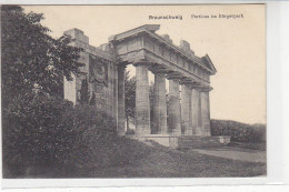 Braunschweig - Porticus Im Bürgerpark - 1913 - Braunschweig