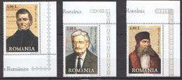 X217 2007 ROMANIA FAMOUS PEOPLE 1SET MNH - Persönlichkeiten