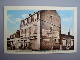 59270   SAINT JANS CAPPEL  Café MONT NOIR CPA - France